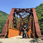武庫川渓谷廃線跡(旧国鉄福知山線)