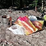 北摂里山散策『羽束山』で朝食を 兵庫100山